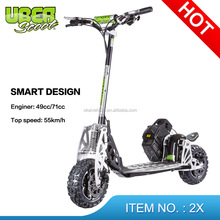 Uberscoot Best Quality China Cheap Price 49CC gas scooter cars with two engine