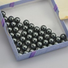 Wholesale handmade imitation 12mm full hole borneo pearl