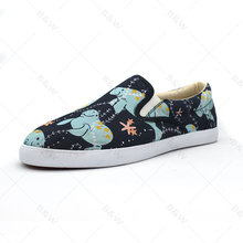 high quality rubber sole mens canvas no lace shoes