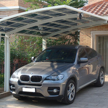 Outdoor aluminum Motorcycle Shelter Canopy, 10x20 metal Carport For Motorcycle