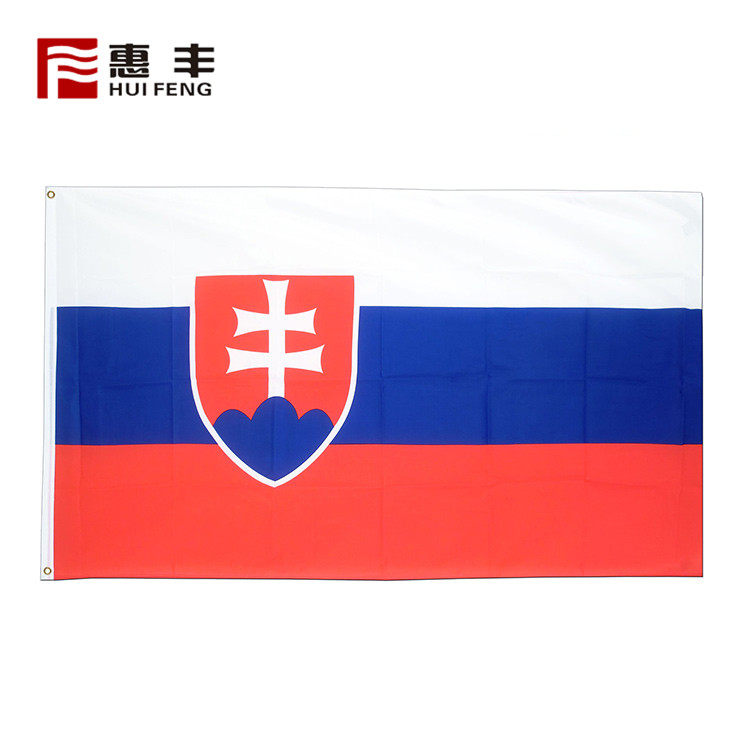 Kosovo flag country 3x5 , polyester fabric flags