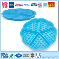 Funny Flower Round Shape Silicone Cake Mould,Baking Tray