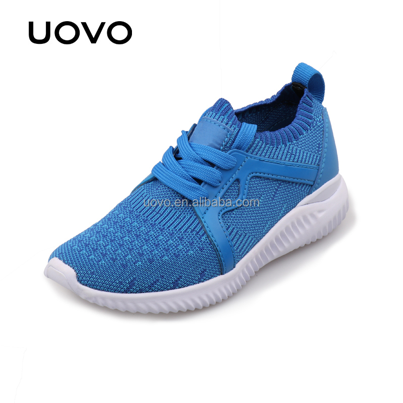 light weight breathable fabric kids used sport shoes