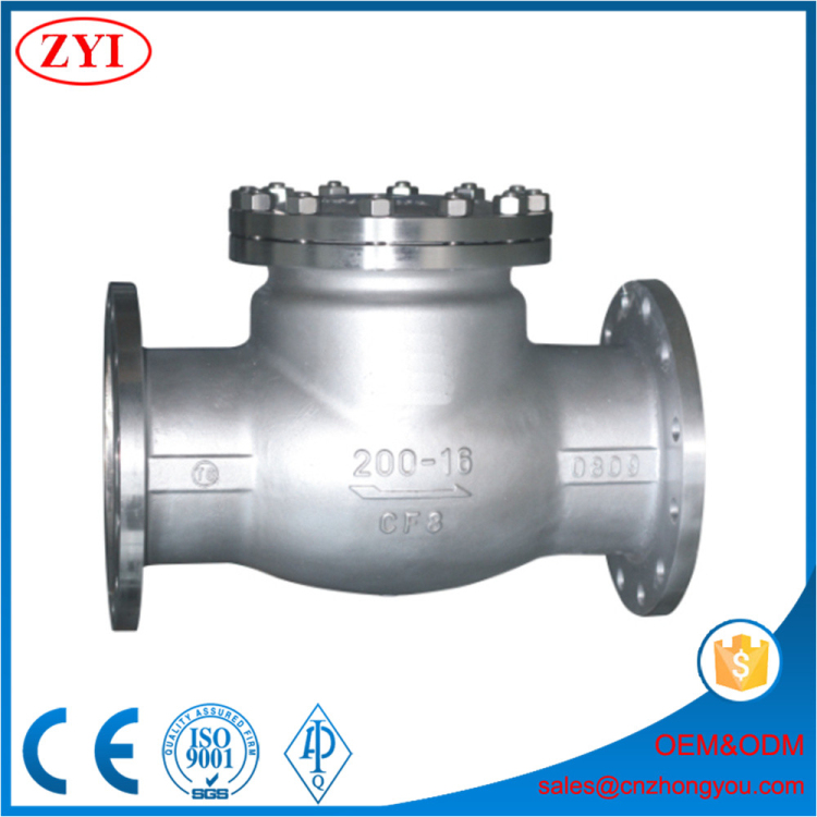 Stainless Steel General Dual Plate Wafer sewage check valve