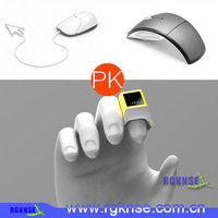 2015 new model handheld wireless trackball one Finger Mouse