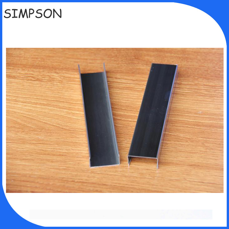 Ceramic tile trim edges