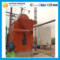 wood/coal/biomass fuel U.S. brand water treatment 0.5-25 t/h ftb steam boiler