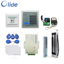 Access Control Complete Kit For Single Frameless Door