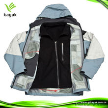 Two in one outdoor windbreaker jacket