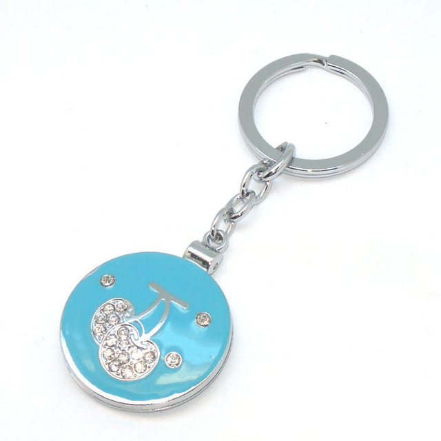 Small size portable makeup mirror cheap wholesale round shape cosmetic mirror keychain