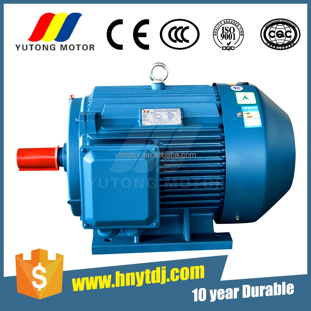 IEC standard high efficiency three phase induction food machinery motor YE3-90S-2