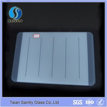 wholesale 5mm clear tempered glass cutting board with printing