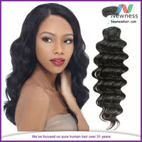 No Shedding No Synthetic good hair virgin brazilian and peruvian hair 8 inch virgin remy brazilian hair weft