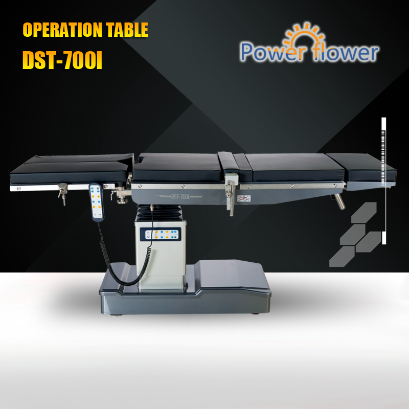 China suplier dual control type hydraulic operation table