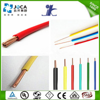 300/500V or 450/750V PVC Insulated Nyaf Flexible Electric Wire with IEC60227
