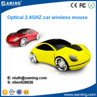2.4GHz wireless gifts car shape mouse