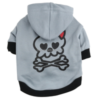 Chinese Skull dog clothes bulk pet puppy dog hoodie