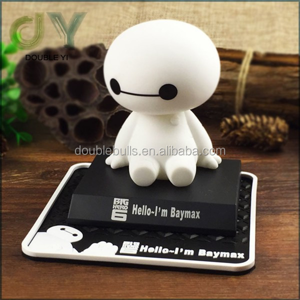 Custom wholesale good price cute Automatic Shaking Car Decoration big baymax hero 6 - toy for car