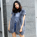 CX-G-B-15F Hot Sale Winter Genuine Fox Fur Sleeveless Vest