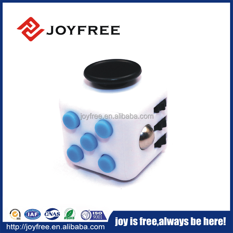 2017 hot sale anxiety release fidget cube hand toy cube magic snake cube wholesale china