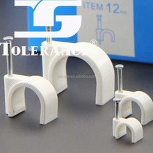 electrical wire plastic Cable Clips 12MM