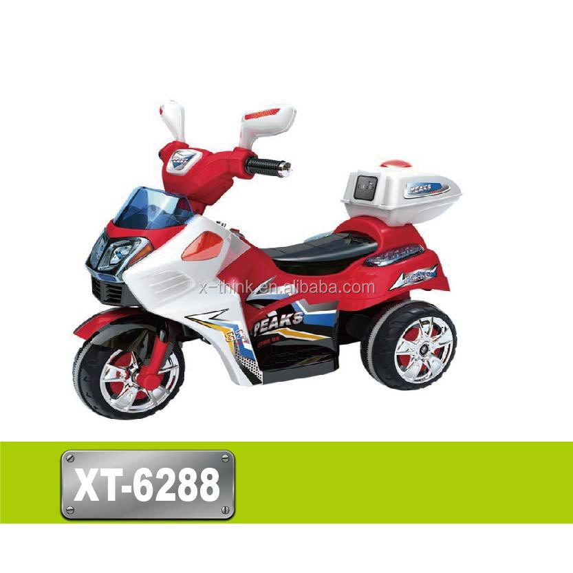 New design battery charger toy motorcycle with single/dual drive