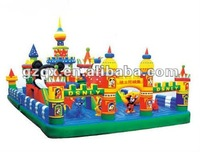 Multi-funs Inflatable mickey playground toys gaint inflatable playgrounds QX-11099C