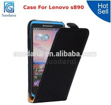 Cell Phone Case Manufactures For Lenovo S890 Ultra Slim Leather Case Flip Cover