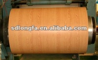 0.18mm-1.7mm wooden steel color coated steel coil or sheet
