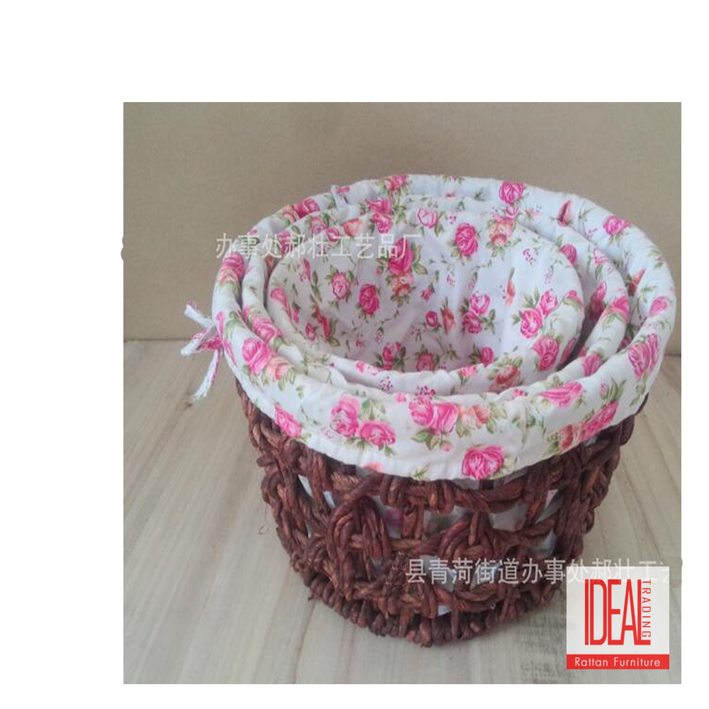 Excellent quality wholesale price bulk laundry wicker basket