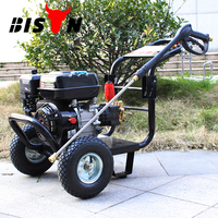 BISON Portable Pressure Washer With rechargeable Battery, Portable High Pressure Water Jet Cleaner