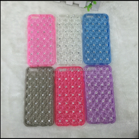 guangzhou factory funny bling bling fresh cell phone accessories for iphone 6 case