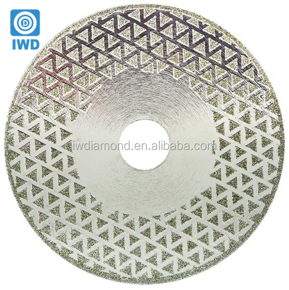 Best Wet Circualr Electroplated Saw Nano Tools Disk Cut Fiberglass Blade Diamond Disc For Cutting Glass Tile