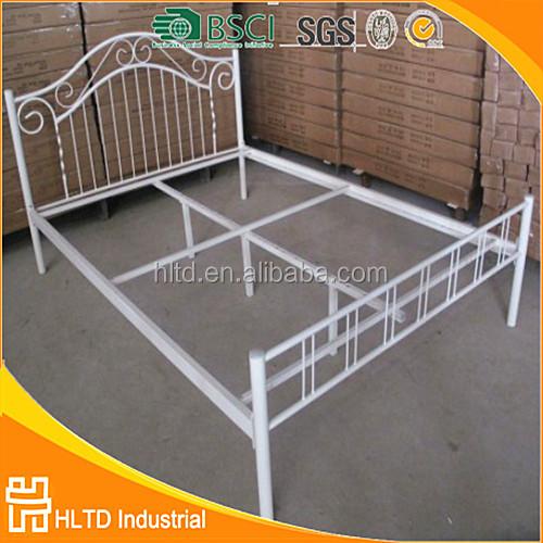 slaapkamer meubels dubbele cot bed ontwerpen goedkope metalen bed