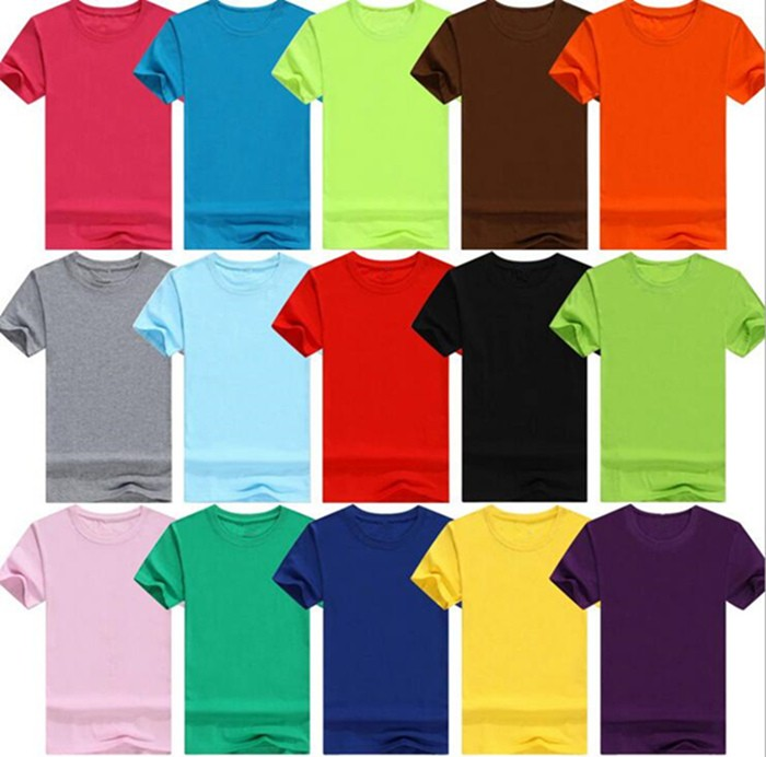 Men Cotton Customized Bulk Wholesale Printing Company Logo Tee Shirt