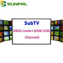 Best Sale Iptv Subscription 1 Year subtv Iptv Account French Arabic Sports News Kids Channel UK free test code