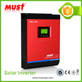 1kw DC to AC solar home use pure sine wave solar hybrid power inverter with MPPT solar controller