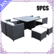 import furniture dining table and chair made from pe wicker material folding dining table with 8 chairs mirrored dining table