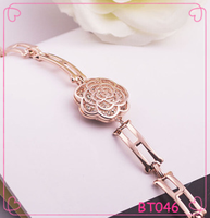 Korean Fashion Accessories Rose Jewellery Gold