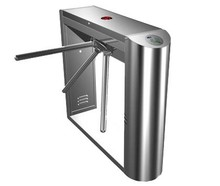 304 Stainless Steel Turnstile Access Control CE Approved Automatic Tripod Turnstile Gate