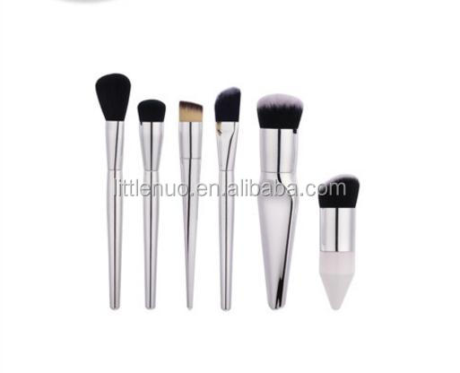 MB0305Y Latest Custom High Quality 6pcs Make-up Brush Tool Set Beauty Makeup Tools Loose Powder Chubby Pier Makeup Brushes