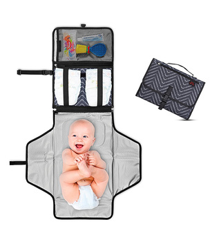 Diaper Changing Pad Mat Station Travel Kit Portable Compact,baby diaper changing washable mat,baby foldable changing mat