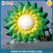 Inflatable logo model, giant inflatable advertising logo replica, inflatable advertising logo