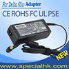 Hot selling 19V 3.42A 65w Laptop Power Adapter with yellow 5.5*1.7mm pin for acer laptop