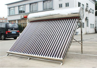 Guangzhou Supplier 60-384L Homeuse Rooftop Solar Water Heater