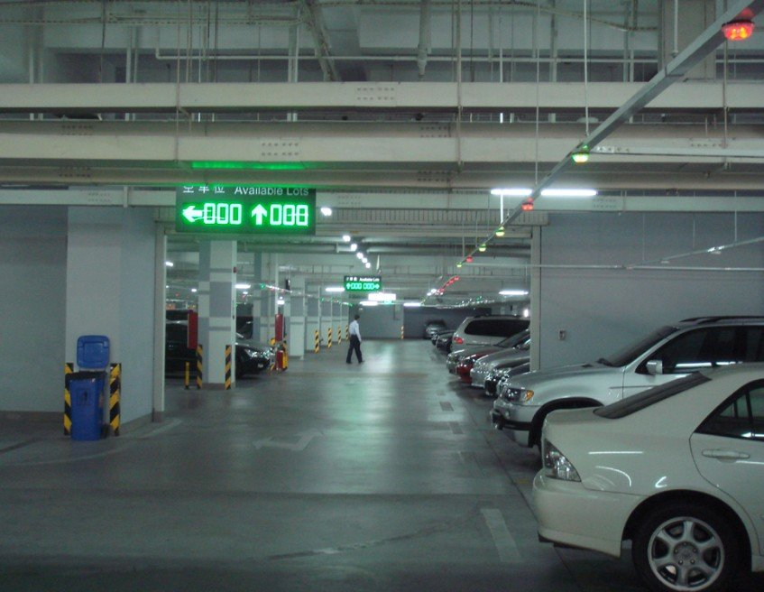 LED Guide screen Indoor parking system