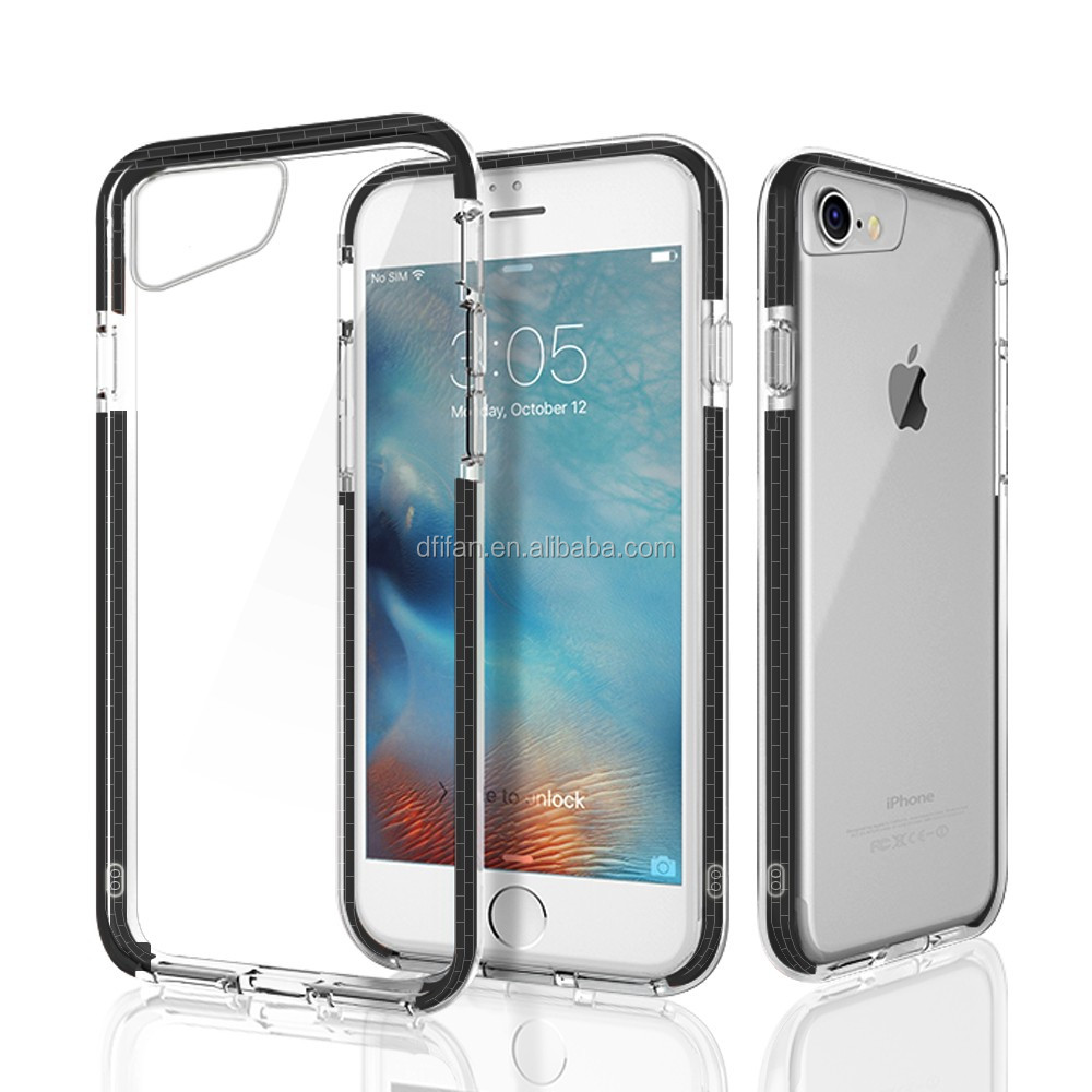 DFIFAN Anti shock back cover for iphone 8 cell phone , drop resistant mobile phone cover for apple iphone 8