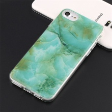 Shock Proof Marble Design TPU Soft Case for iphone 7 plus