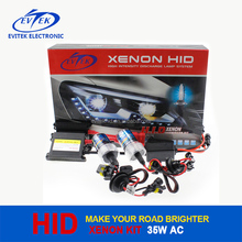 Chinese Factory Supplier HID Light 35W AC Slim Xenon HID Kit with Xenon H7 4300K 6000K 8000K 10000K