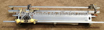Hand device flat knitting machine